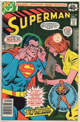 Clark Kent as Superman