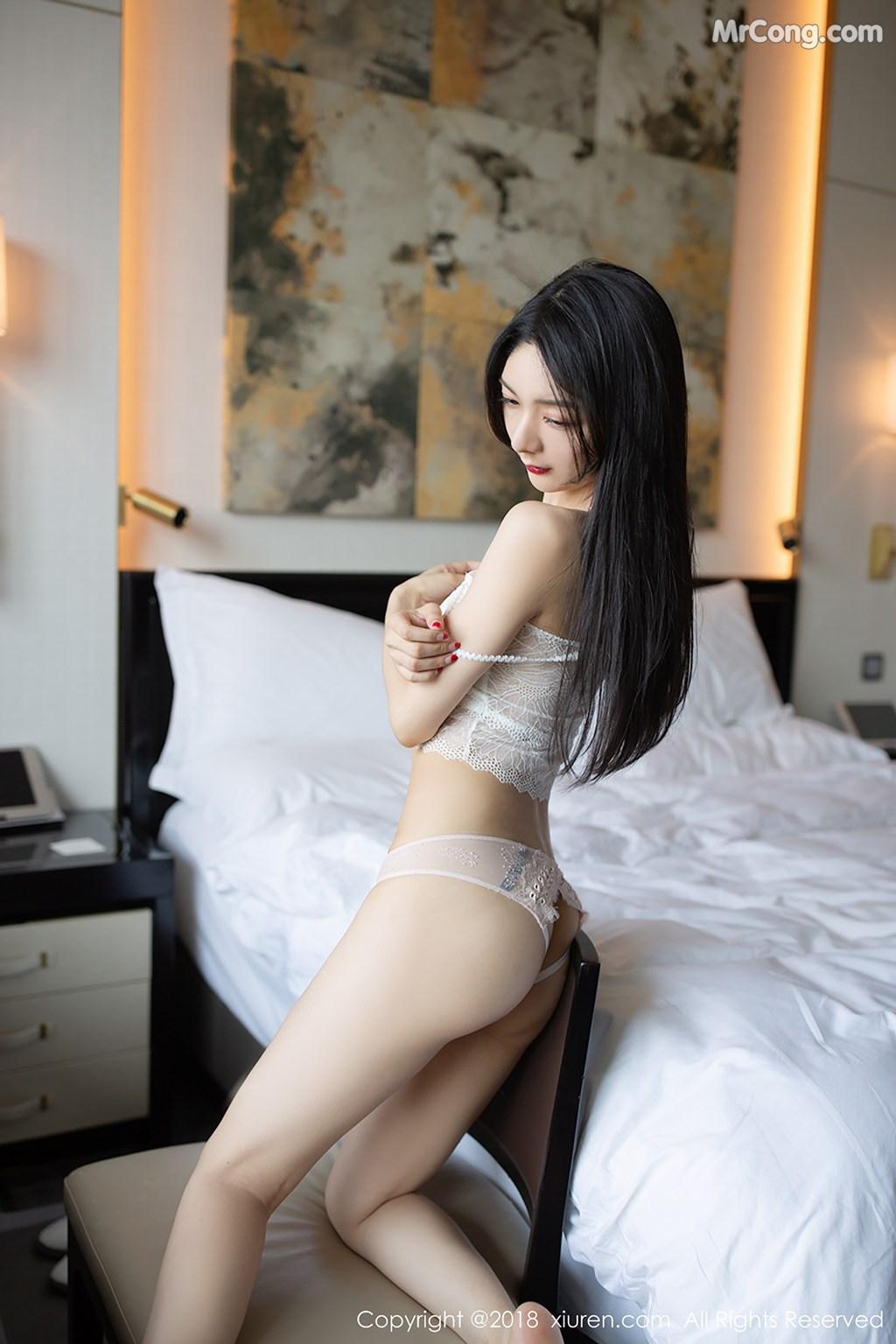Image XIUREN-No.1194-Xiao-Reba-Angela-MrCong.com-008 in post XIUREN No.1194: Người mẫu Xiao Reba (Angela小热巴) (42 ảnh)