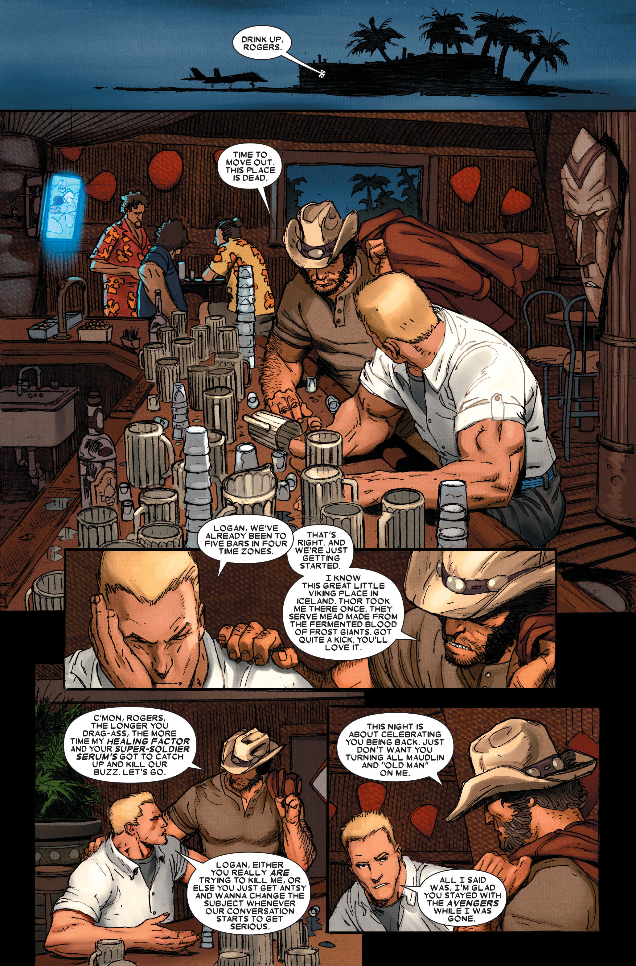 Read online Wolverine: Weapon X comic -  Issue #11 - 13