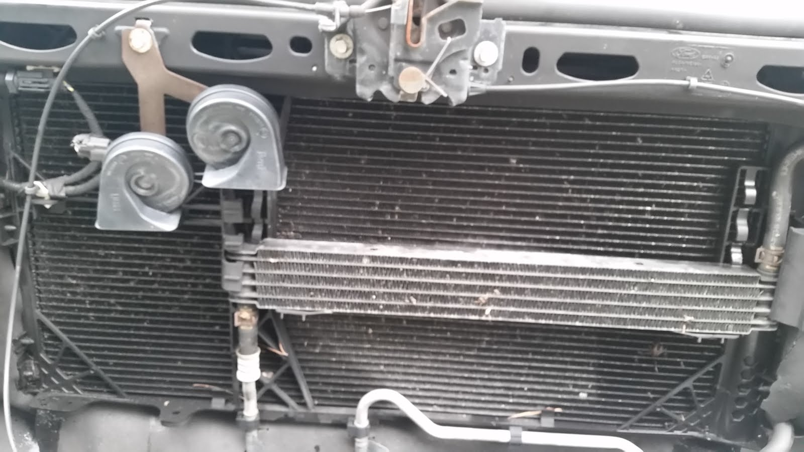 Power Steering Leak Diagnosis And Repair  Ford F  Lariat Rh Radiatorhelpline Com Ford F   Transmission Cooler Lines  Ford F  Oil Cooler