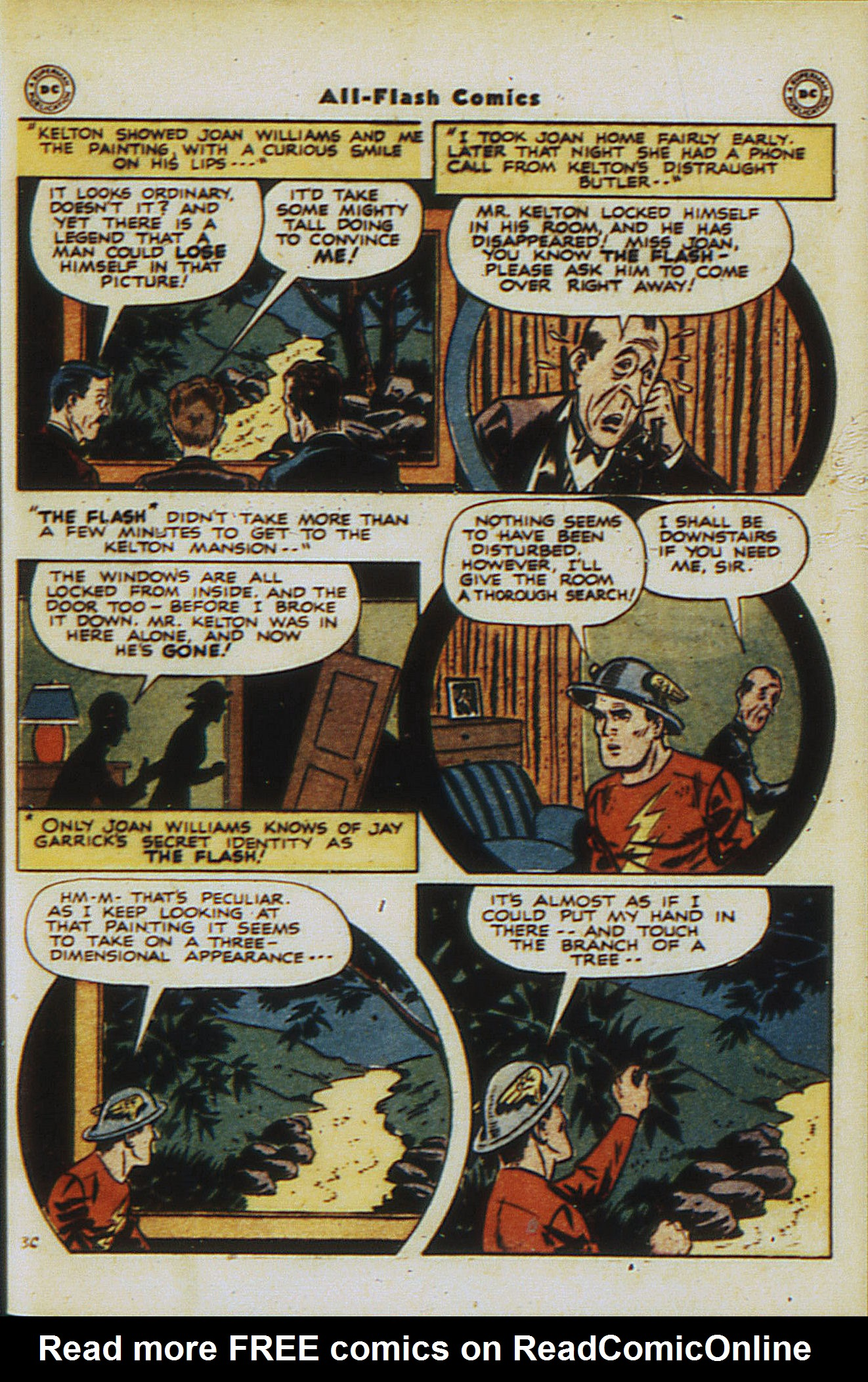 Read online All-Flash comic -  Issue #30 - 41