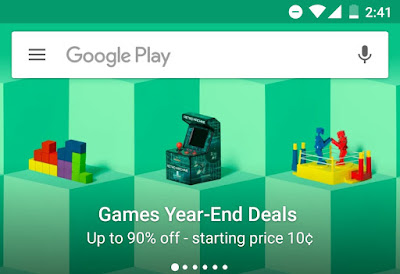 Play Store End Of The Year Game Discount Offer: For All Android Users