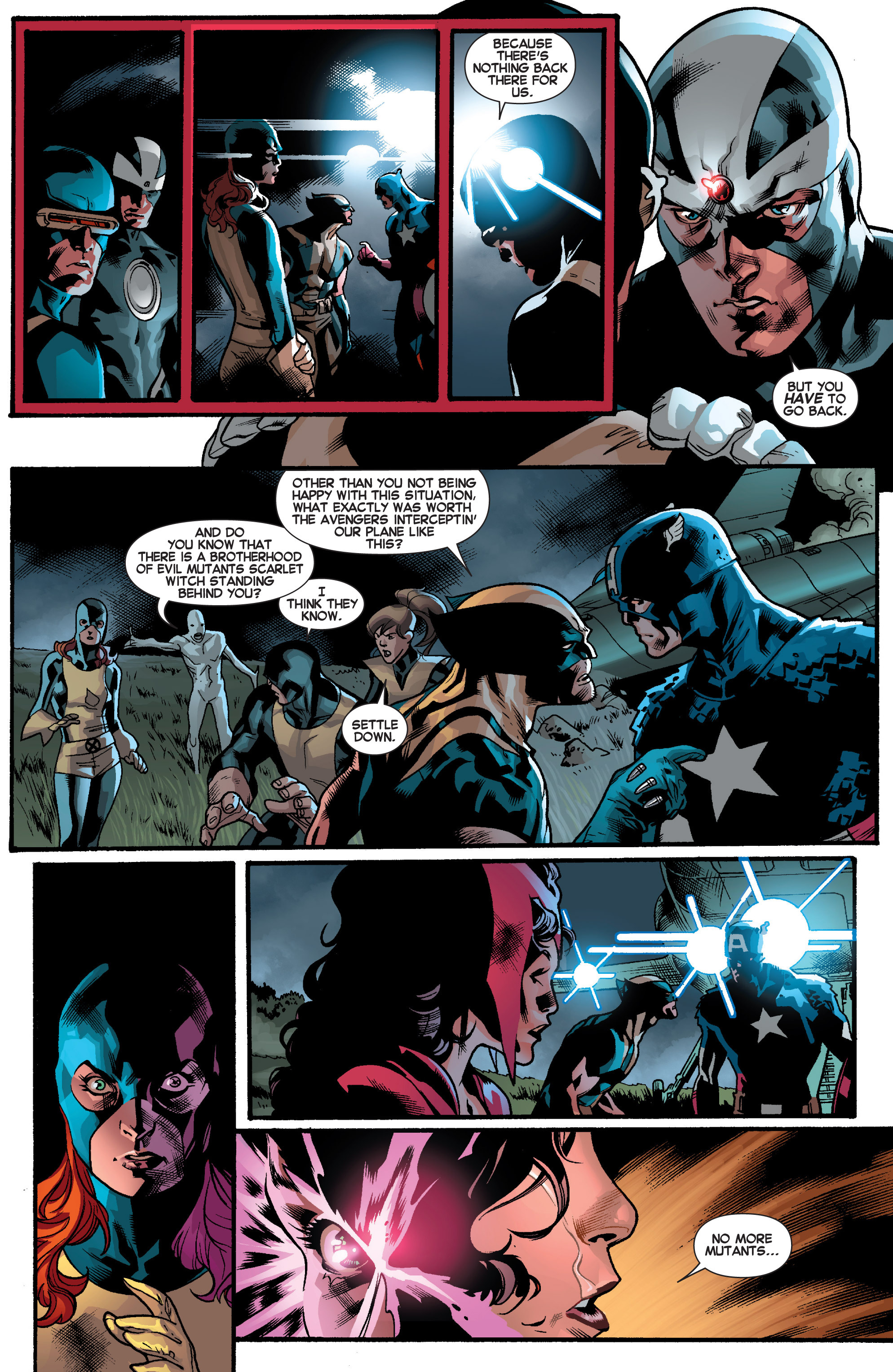 Read online All-New X-Men (2013) comic -  Issue # _Special - Out Of Their Depth - 31