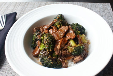 Charred Broccoli Beef – Broccoli Week Continues