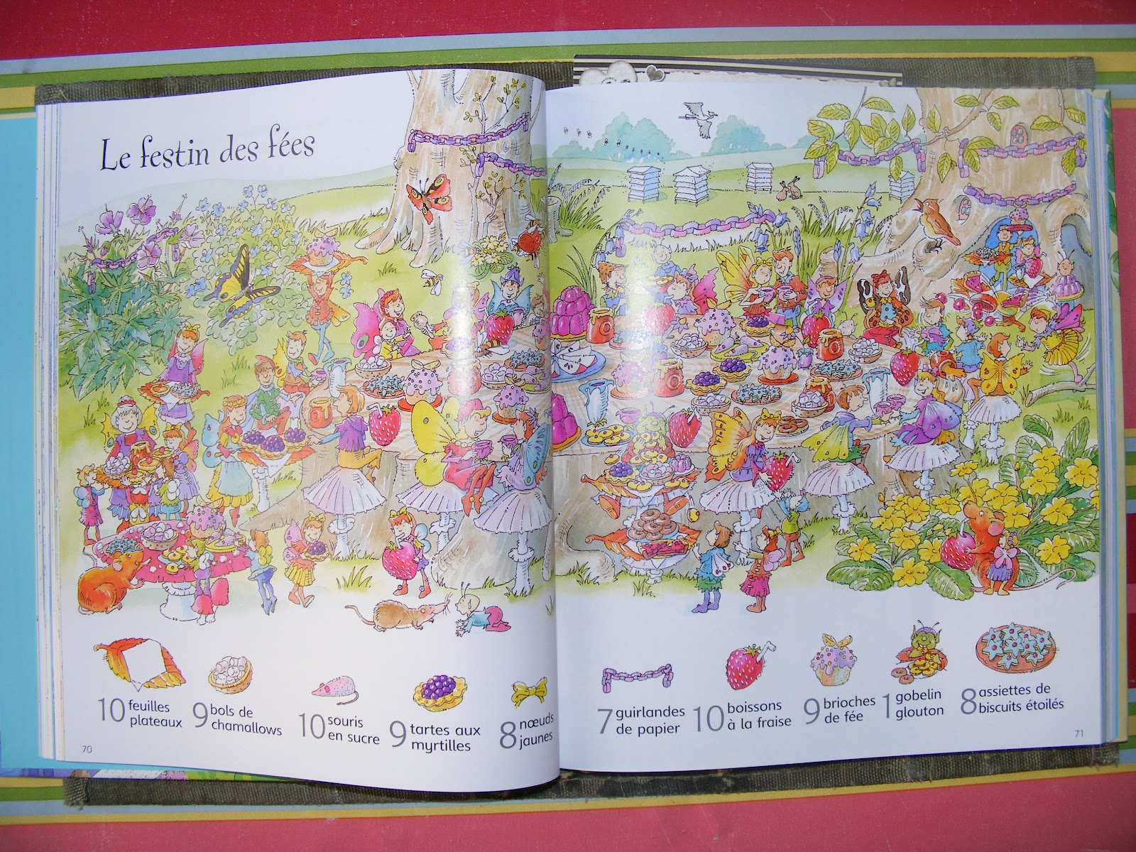 En bref, un livre qui permet à vos enfants d'être occupés pendant un (long)  moment !