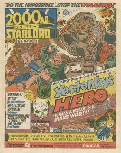 2000 AD and Star Lord, Prog 88