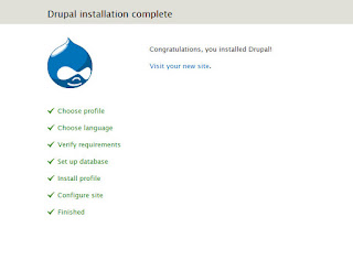 Drupal installation - Free, open source Content Management System