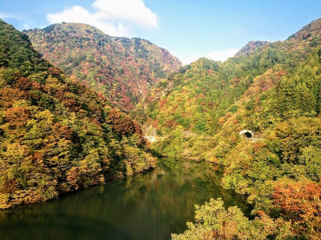 能泉湖 紅葉