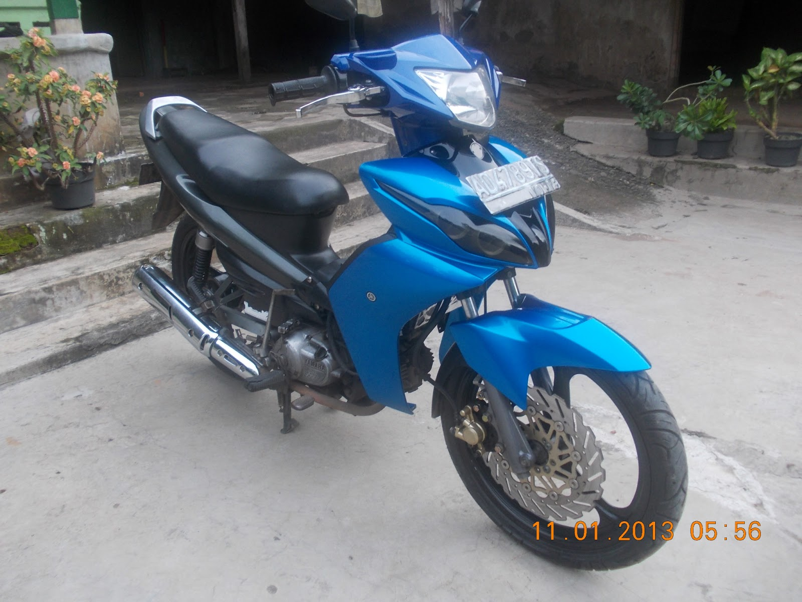 Striping Modifikasi Jupiter Mx Lama