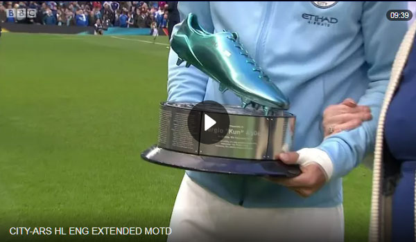 Video Manchester City 3 - 1 Arsenal Ngoại Hạng Anh Vòng 11