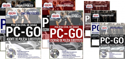 Apostilas Concurso da Polícia Civil de Goiás PCGO 2018.