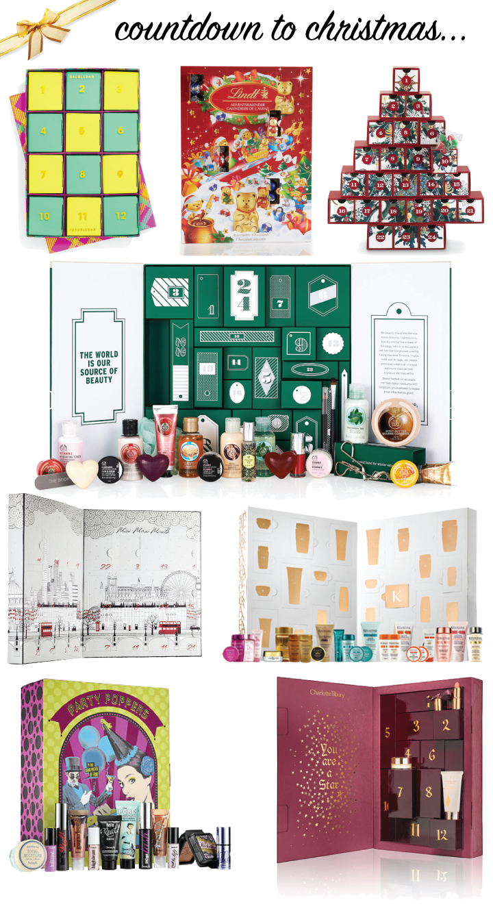 Christmas & Advent Calendars // A Style Caddy