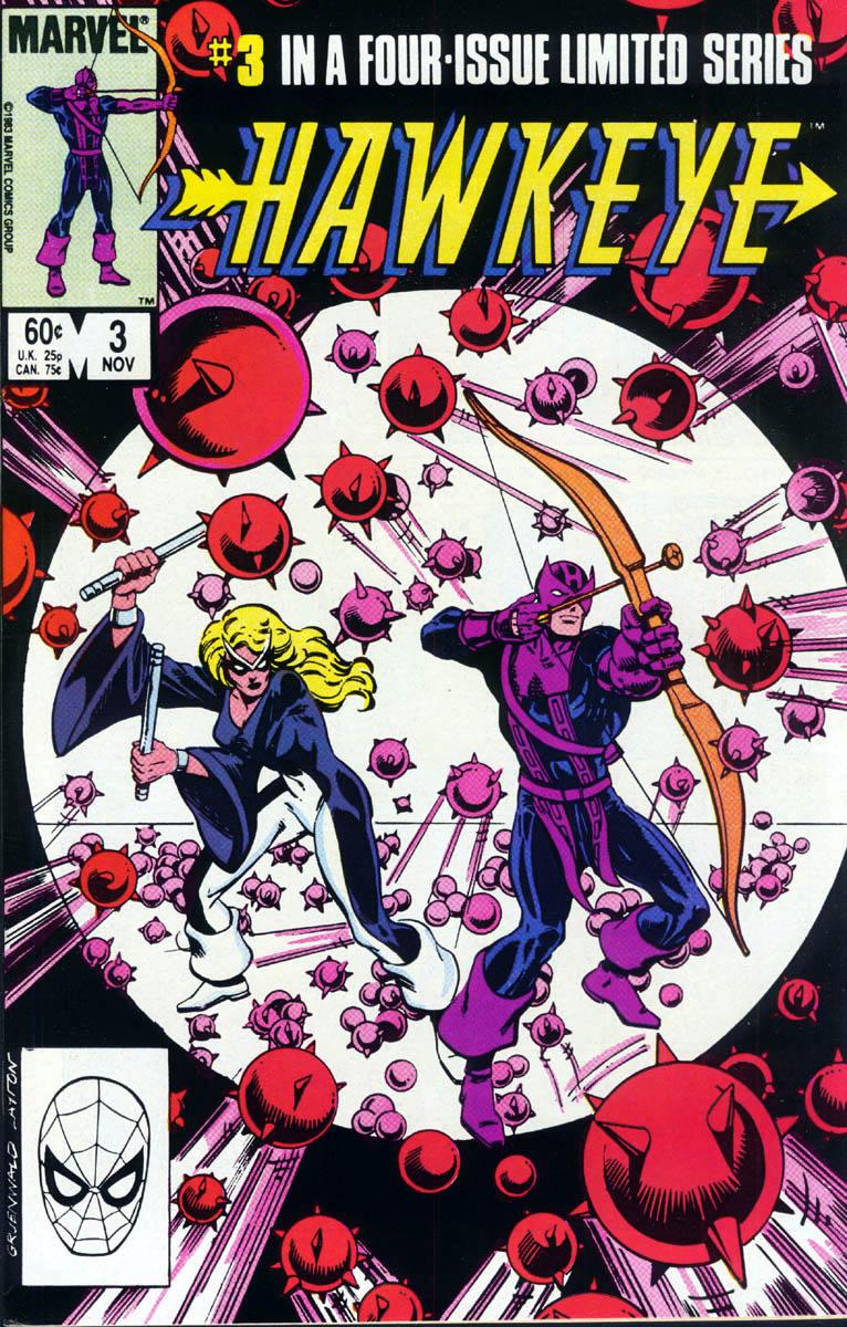 Hawkeye (1983) Issue #3 #3 - English 1