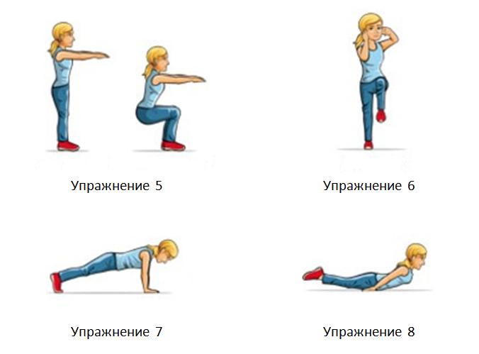 Упражнения без тежести (гимнастика)