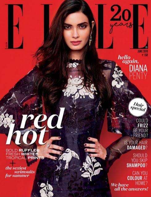 Diana Penty Elle Magazine