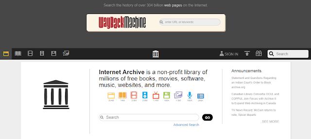 Internet archive youtube alternative