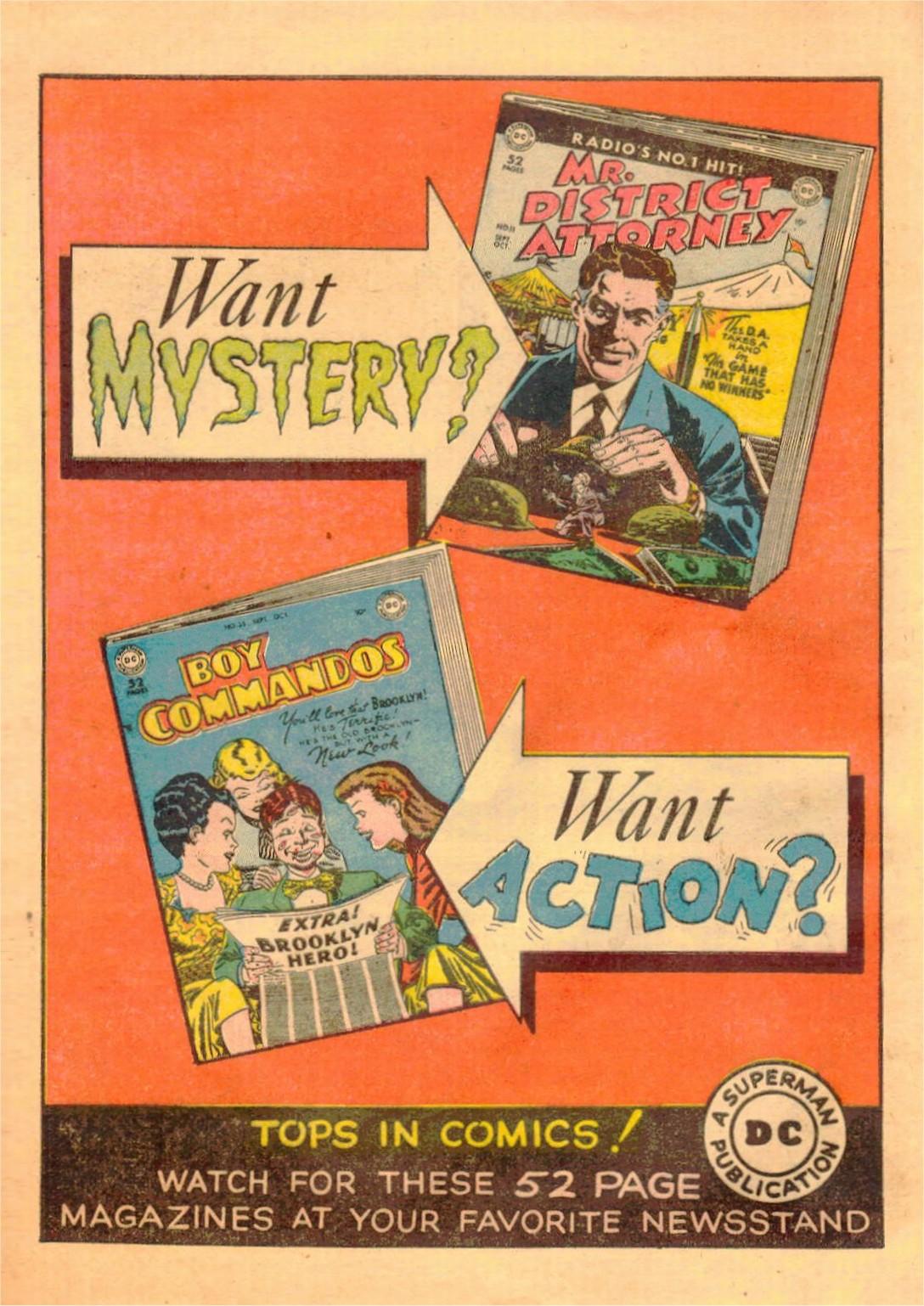 Read online World's Finest Comics comic -  Issue #42 - 52