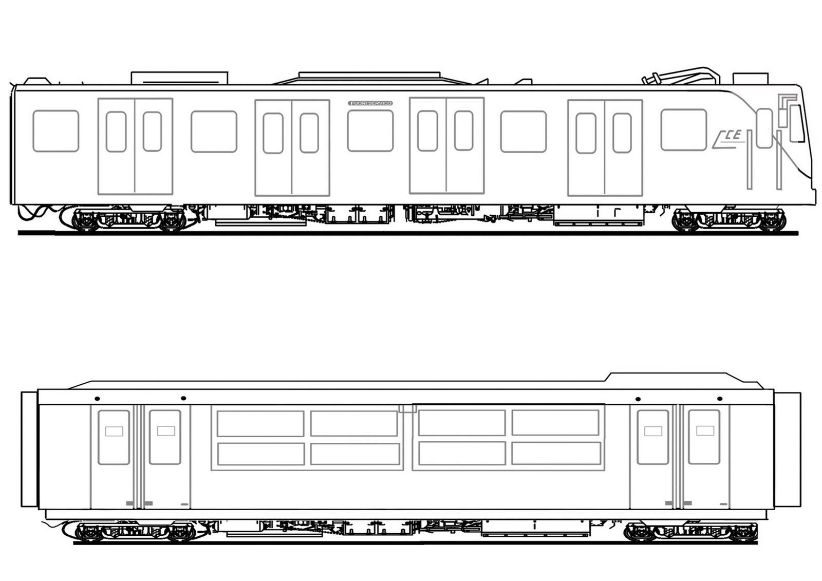 kleurplaat treinen ns www kleurplaten nl voor iedereen