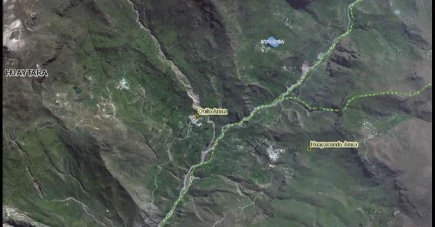 Laguna Mutanga en Huaytará en peligro de desborde, alertó el COER Huancavelica