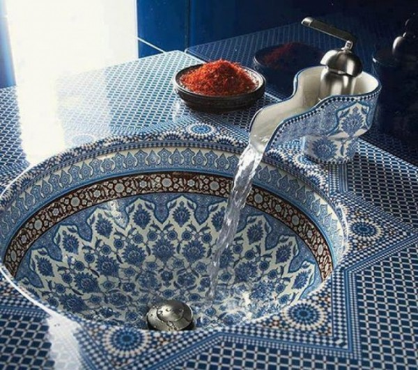 Printed China Sinks! Home Decor