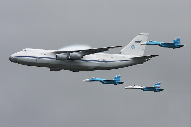 Russian Air Force receive upgraded An-124