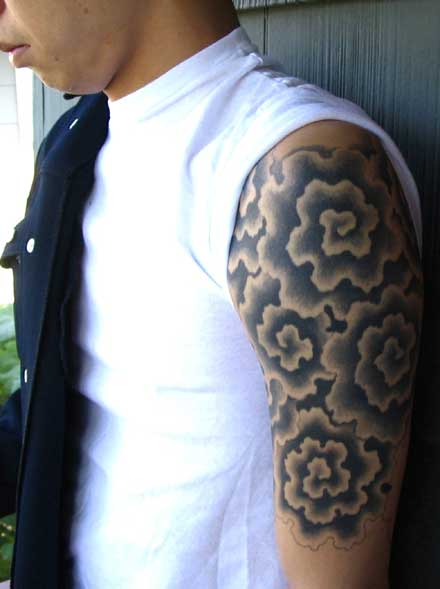 Asian Clouds Tattoo 92