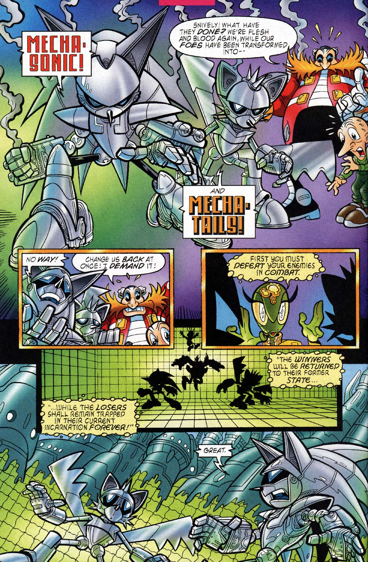 Read online Sonic The Hedgehog comic -  Issue #118 - 8