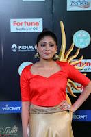Samyukta Hamod in Red Crop top Brown Skirt at IIFA Utsavam Awards 002.JPG