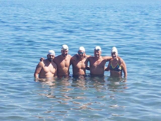 Πέταξαν οι Ιπτάμενοι Αργολίδας στον κολυμβητικό αγώνα open water στην Επίδαυρο