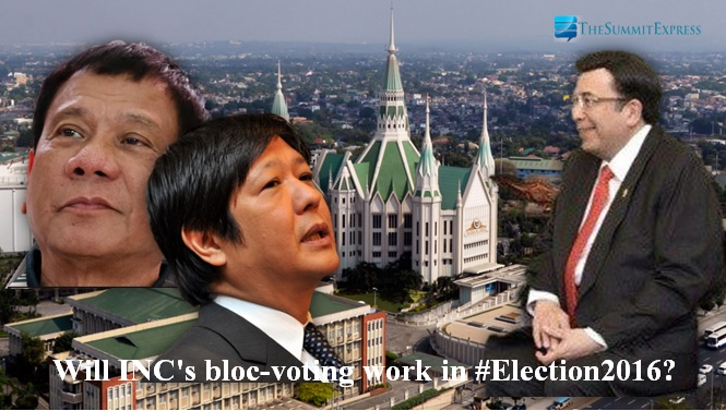 INC bloc voting election 2016