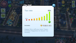 Evaluating Success with Key Indicators in SimCity Buildit - Tax Rate