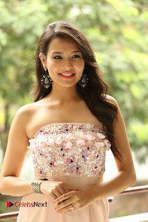 Actress Sagarika Pictures in Short Dress at Friend Request Press Meet  0066.JPG