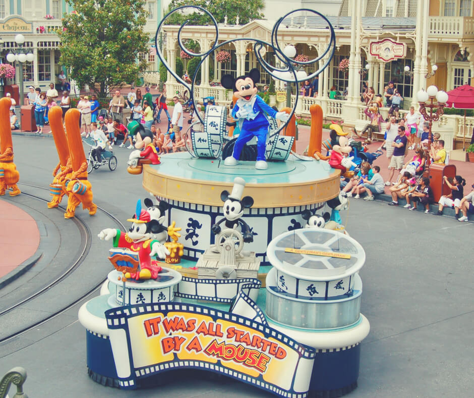 Mickey Parade in Magic Kingdom, Walt Disney World