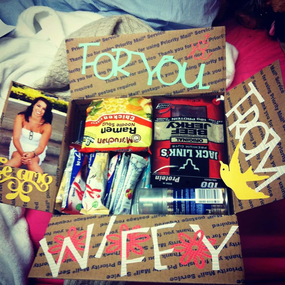 Little Fierce Mama Care Packages From A 7 Month Deployment