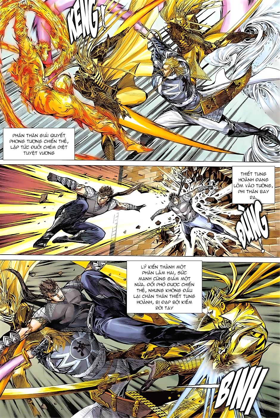 Thiết Tướng Tung Hoành Chap 238