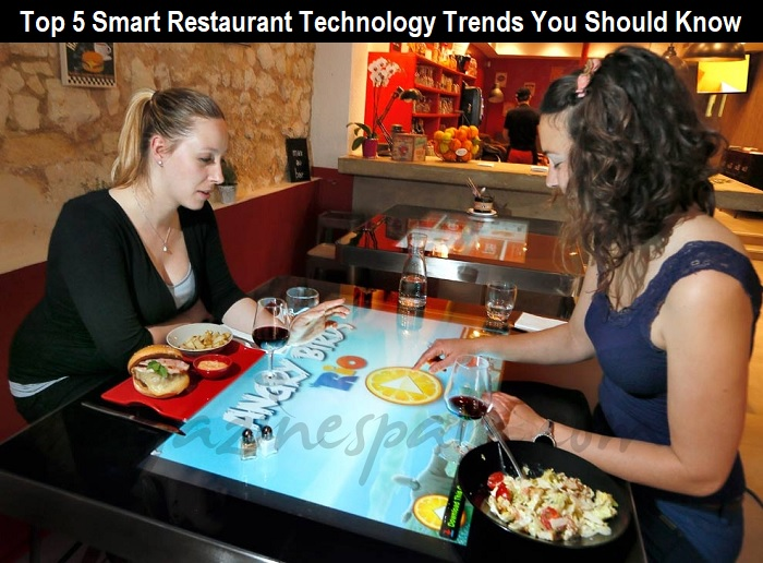 Top 5 Smart Restaurant Technology Trends You Should Know