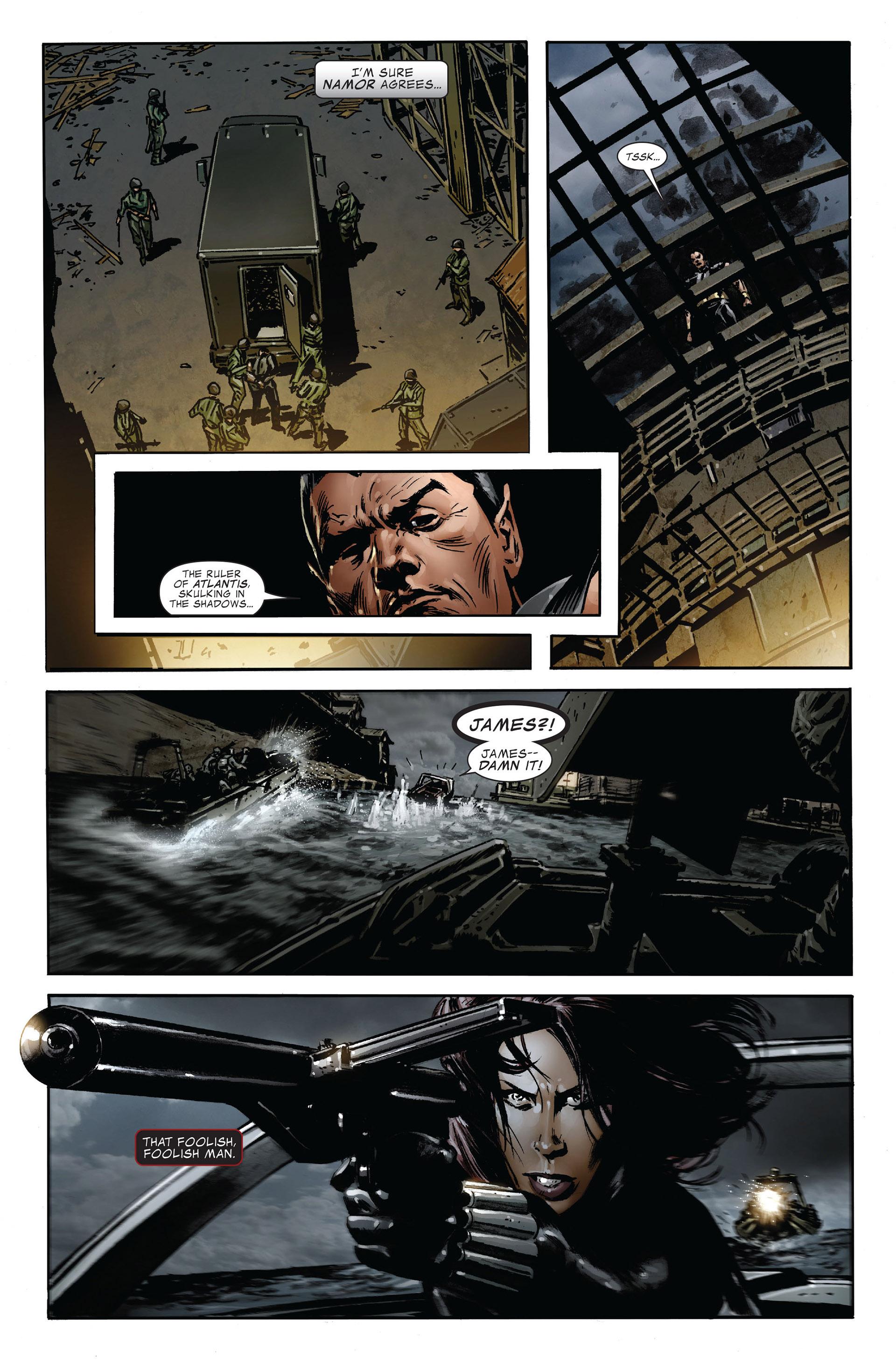 Read online Captain America (2005) comic -  Issue #47 - 10