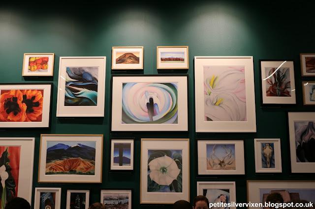 Georgia O'Keeffe Exhibition Prints, Tate Modern | Petite Silver Vixen