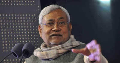 Nitish kumar threat police officer