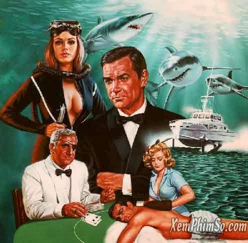 Điệp Viên 007: Quả Cầu Sấm Sét xemphimso Sean thunderball art