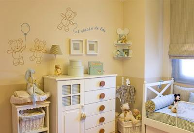 Consejos para decorar una habitación de bebé (I)