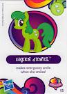 MLP Wave 10 Green Jewel Blind Bag Card
