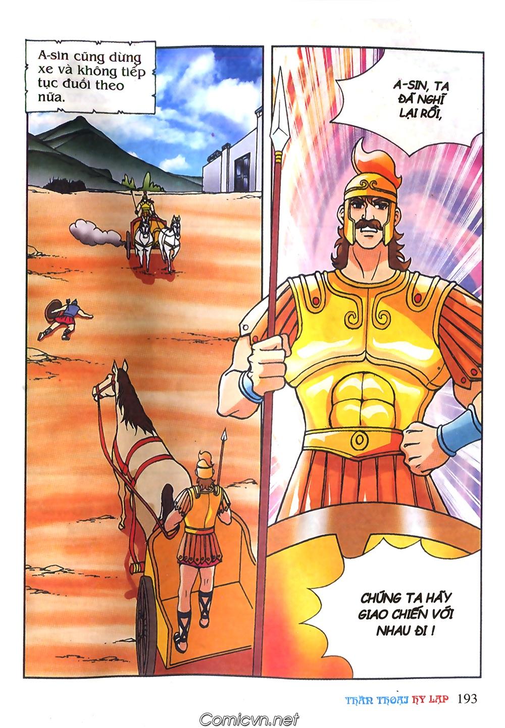 Thần Thoại Hy Lạp Màu - Chapter 61: So tài của hai vị tướng - Pic 22