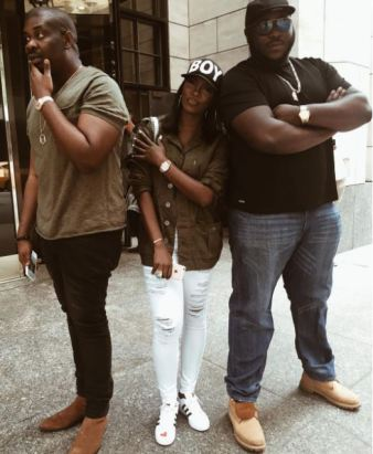 Don Jazzy Tiwa Savage in New York ROC NATION