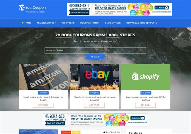 Your Coupon Blogger Theme