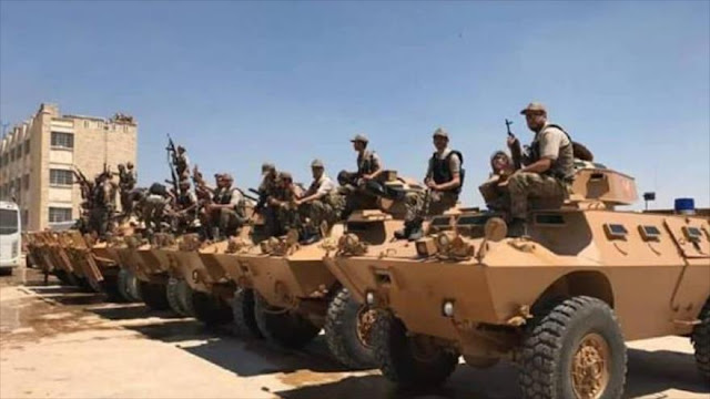 Turquía entrega vehículos blindados a 'rebeldes' en Alepo