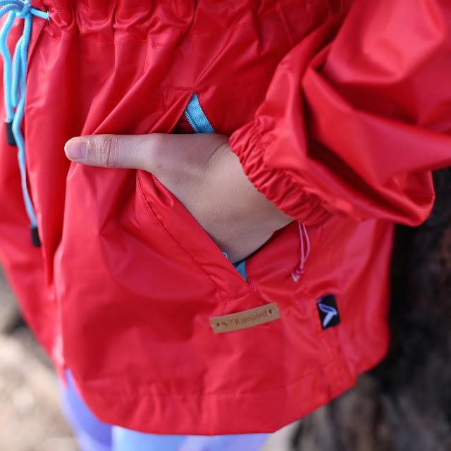 Rainbird Pyxis Rain Jacket Red