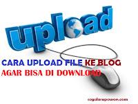 Cara Uplod File ke Blog Agar bisa di download lewat Google Drive