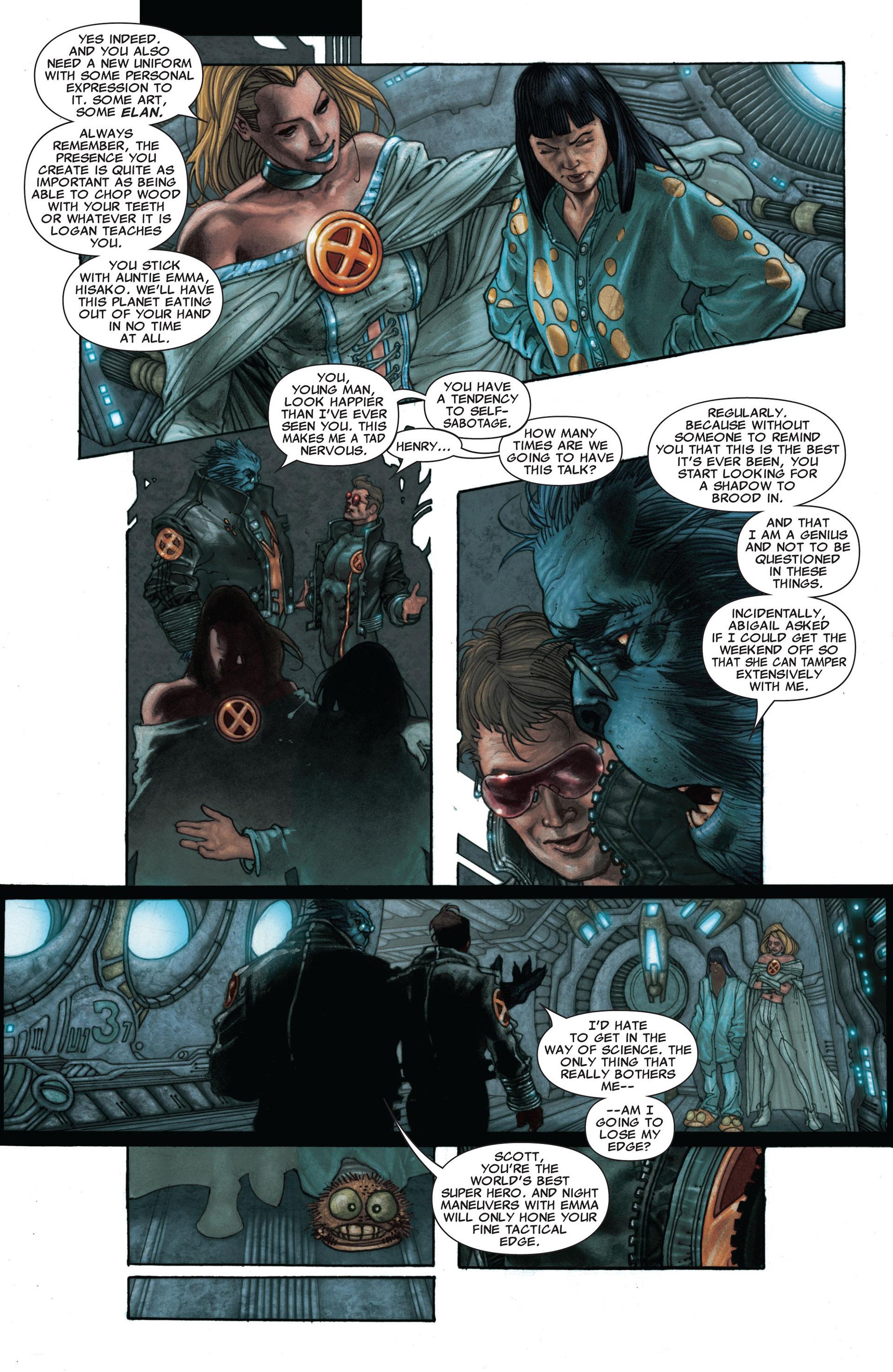 Read online Astonishing X-Men (2004) comic -  Issue #25 - 9
