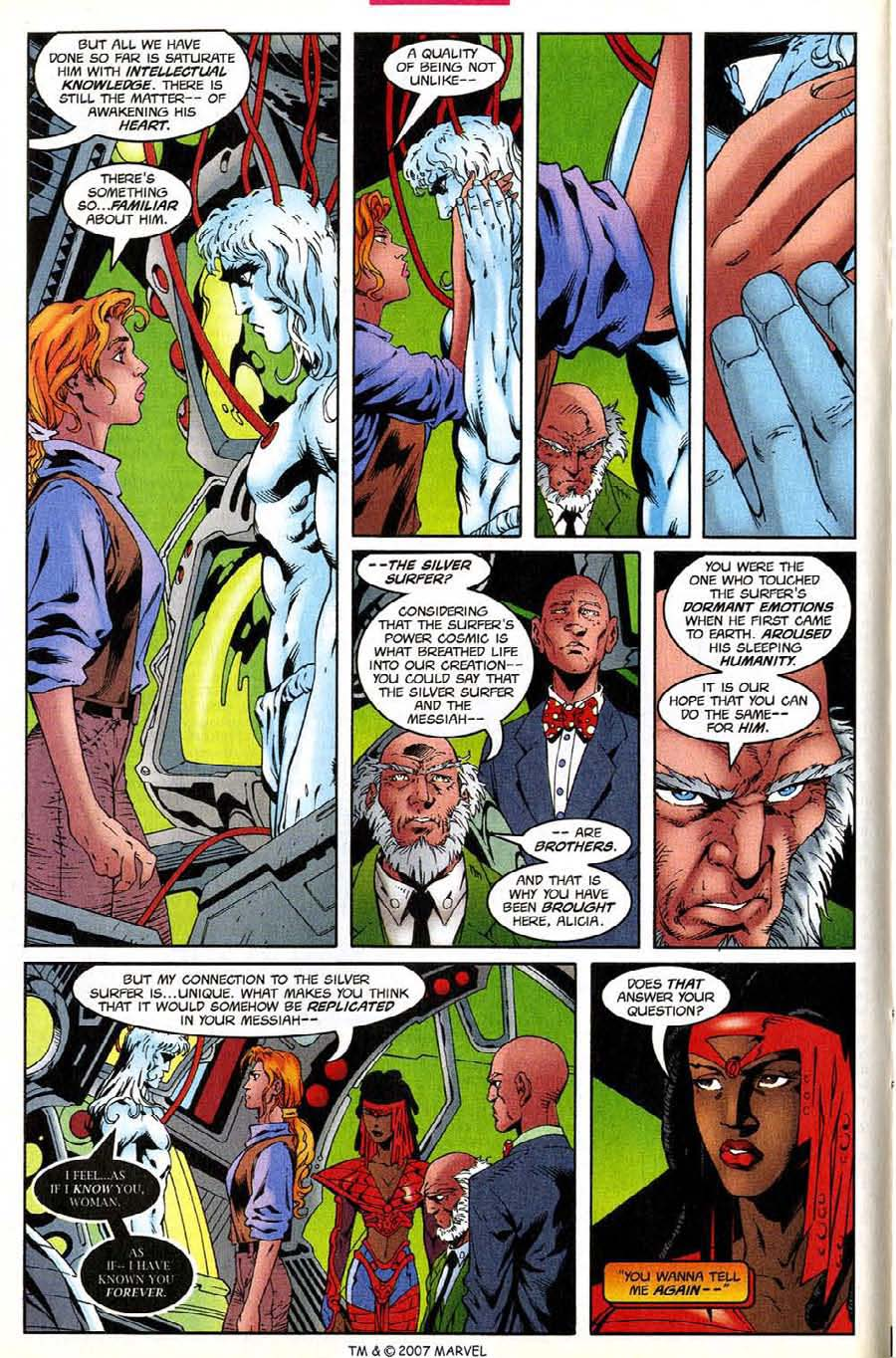 Read online Silver Surfer (1987) comic -  Issue #138 - 14